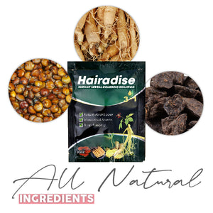Hairadise™ Instant Herbal Coloring Shampoo
