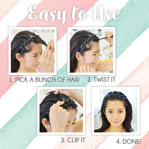 Hairdrobe™ Double-Bang Twister