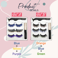 Load image into Gallery viewer, MagneticClick Ombre Eyelashes Set