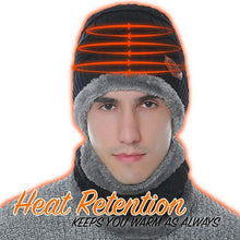 Load image into Gallery viewer, HEATTRAP™ Beanie & Scarf Set