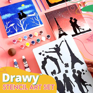 Drawy™ Stencil Art Set