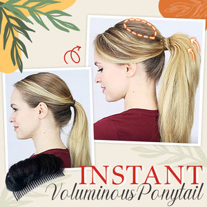 Bump-Up Invisible Foam Hair Clip