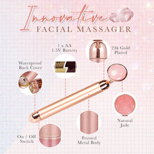 Load image into Gallery viewer, Rose Quartz Smoothen Massager