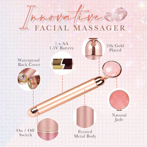 Rose Quartz Smoothen Massager