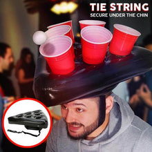 Load image into Gallery viewer, Inflatable Beer Pong Hat