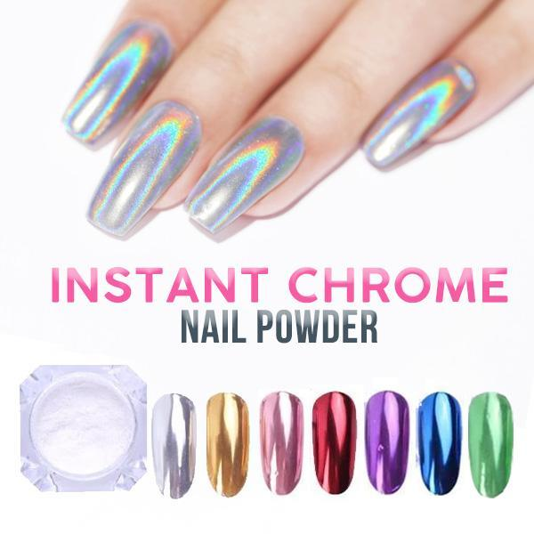 Instant Chrome Nail Powder