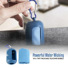 Load image into Gallery viewer, Microfiber Instant Cooling Towel Keychain