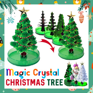 Magic Crystal Christmas Tree