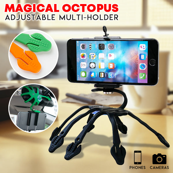 Magical Octopus Adjustable Multi-Holder