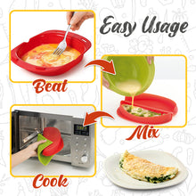 Load image into Gallery viewer, Microwave Silicone Omelet Maker