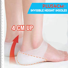 Load image into Gallery viewer, Plus4cm™ Invisible Height Insoles