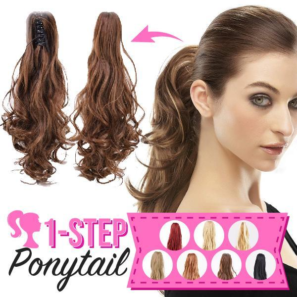 One Step Ponytail
