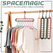 Load image into Gallery viewer, SpaceMagic Closet Hangers Organiser