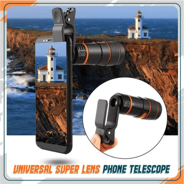 Universal Clip 12x Zoom Lens