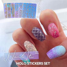 Load image into Gallery viewer, NailIt™ Holo Stickers Set
