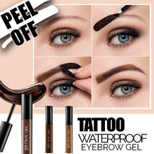 Load image into Gallery viewer, Waterproof Eyebrow Gel Tattoo