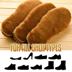 Fluffy Wool Thermal Insoles