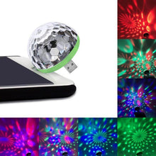 Load image into Gallery viewer, USB Mini Disco Ball