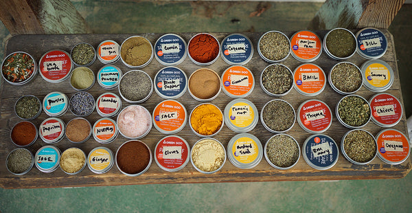 The Glampeur's Guide to Spicing it Up (+ Tips For How to Reuse Your Tins)