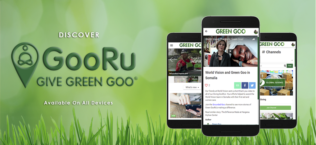 Become a Green GooRu & Give Back One Tin at a Time