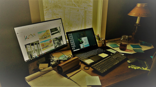 Letters from the Front (a.k.a. My Stay-At-Home Office)