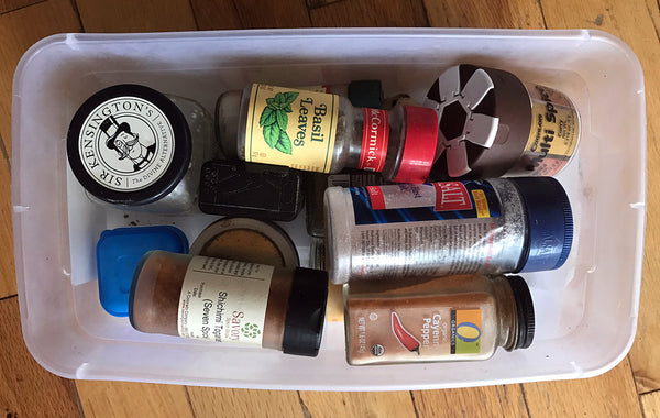 The old spice kit - unmanageable and inconvenient