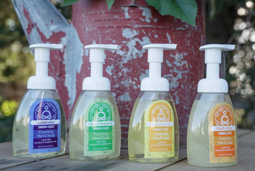 All Natural Foaming Soap