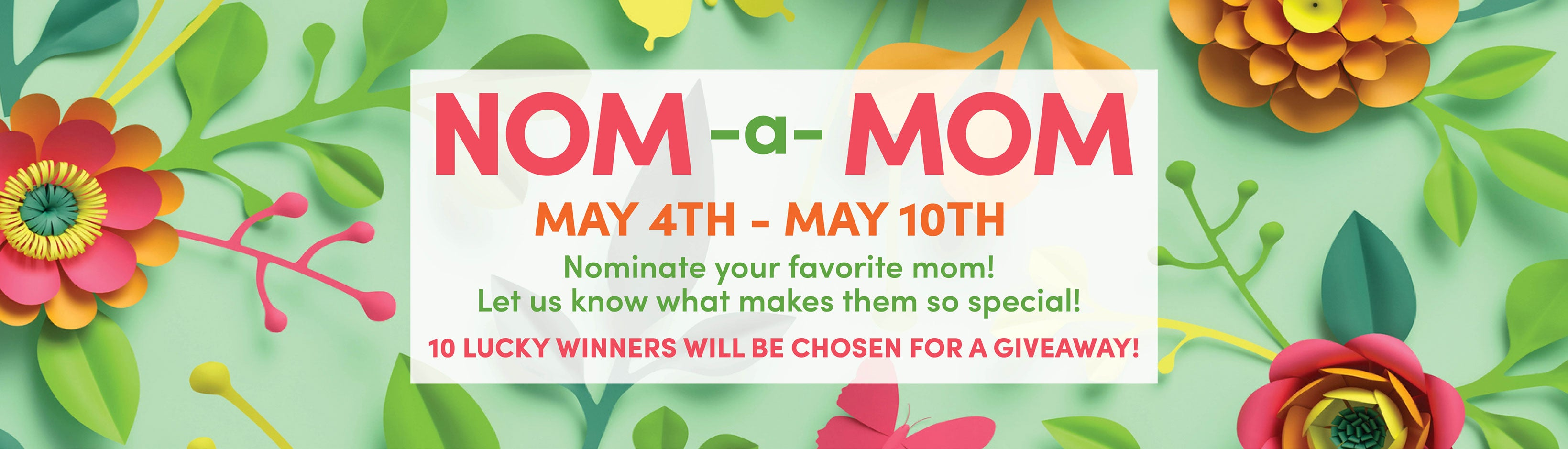 GREEN GOO'S NOM-A-MOM SWEEPSTAKES – Green Goo