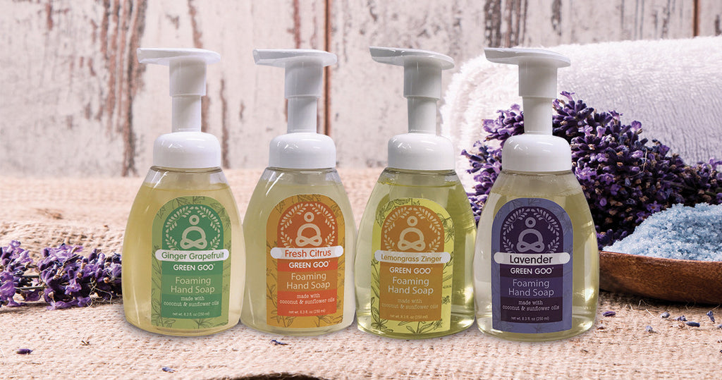 Natural Foaming Soap