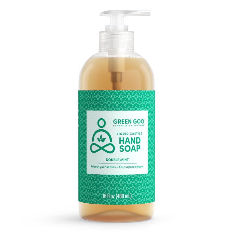 Liquid Castile Hand Soap - Double Mint