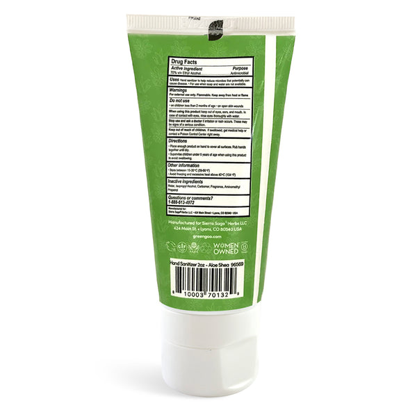 Aloe Shea Hand Sanitizer (2 oz.) – Green Goo