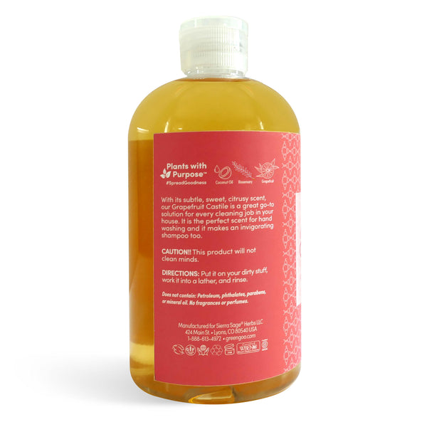 Castile Soap - Grapefruit