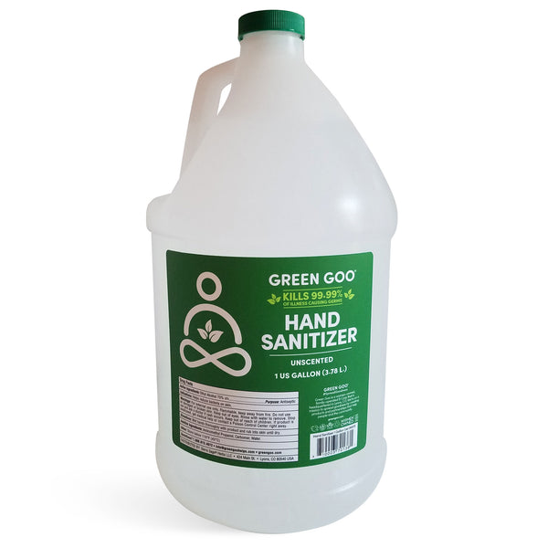 Hand Sanitizer (1 Gallon) – Green Goo