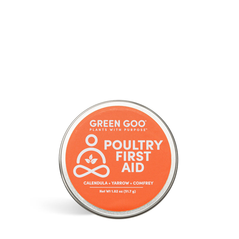 Poultry First Aid | Green Goo by Sierra Sage Herbs