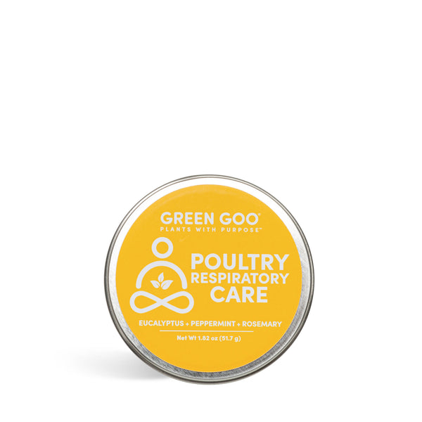 Poultry Respiratory Care 1.82 oz. Tin – Green Goo
