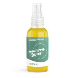 Massage Oil - Clary Sage + Ylang Ylang by Southern Butter