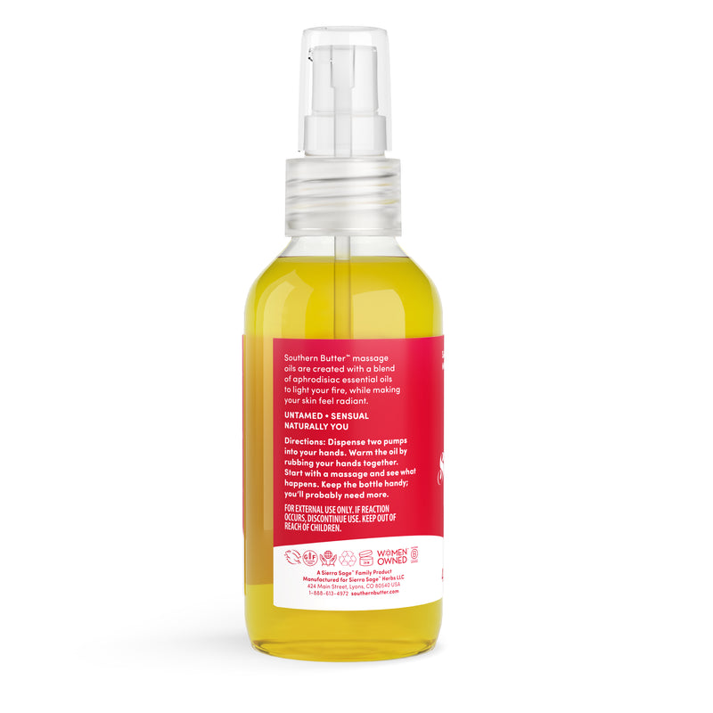 Massage Oil - Sandalwood + Cinnamon by Southern Butter