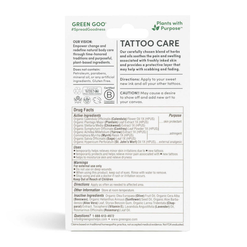 Tattoo Care