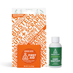 First Aid + Hand Sanitizer Bundle