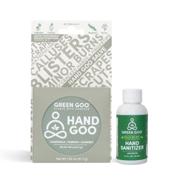 Hand Goo + Hand Sanitizer Bundle | Green Goo by Sierra Sage