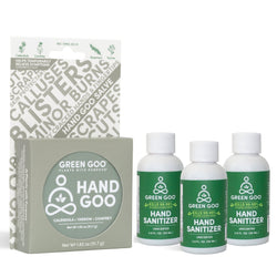 Hand Goo + 3-Pack Hand Sanitizer Bundle
