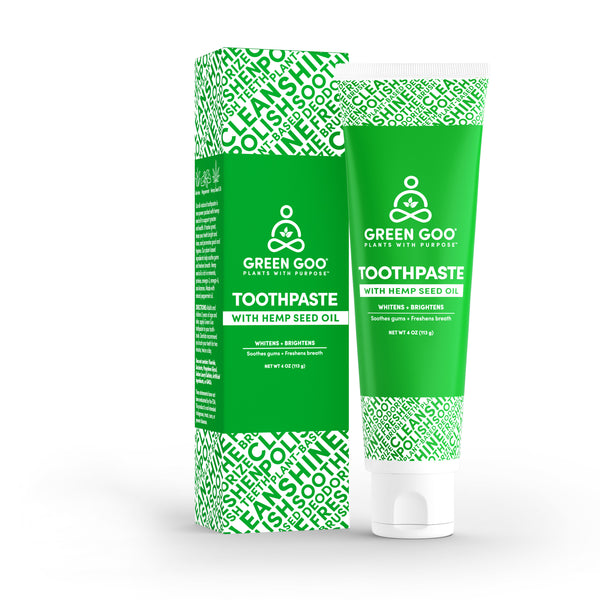 Toothpaste with Hemp Seed Oil