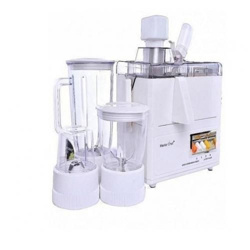 4-In-1 Juicer, Blender, Grinder And Mill