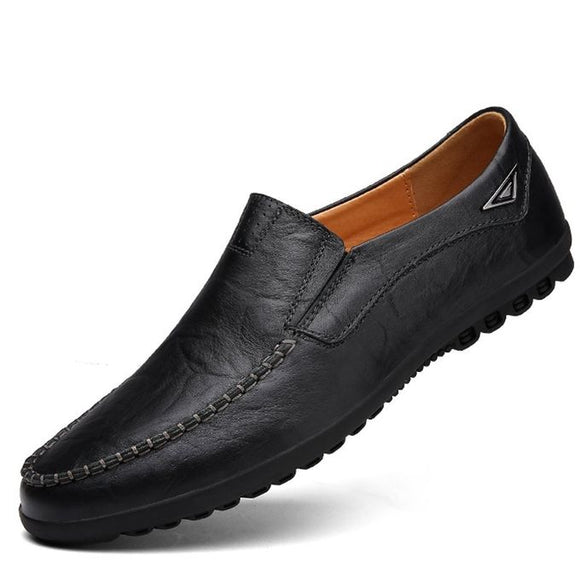 Men's Fashionable Loafers - Black