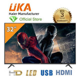 "UKA 32"" LED HD TV - LED32K8000 - Black"
