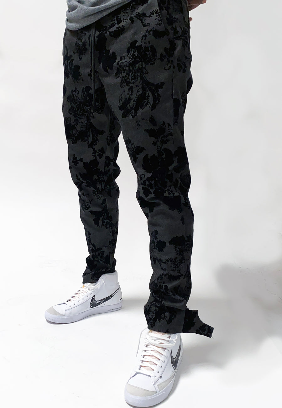 Pinn Strap Trouser Black Rose