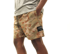 Suede Safari Dark Camo Short