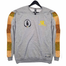 Load image into Gallery viewer, Frimpong sweater in collaboration with black star united  - gray