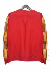 √Frimpong sweater in collaboration with black star united  - red