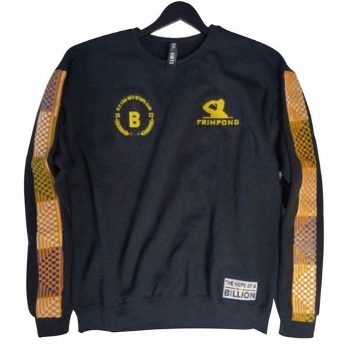Frimpong sweater in collaboration with black star united  - black